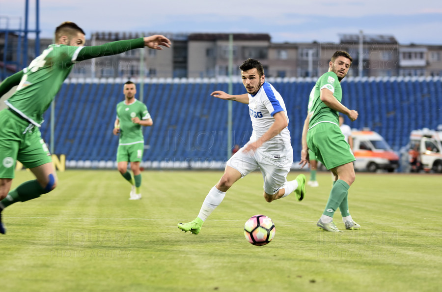 FOTBAL - LIGA 1 - PLAY-OUT - PANDURII-CONCORDIA