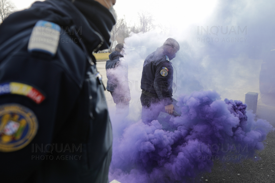 BUCURESTI - COTROCENI - PROTEST - PUBLISIND - 24 FEB 2021