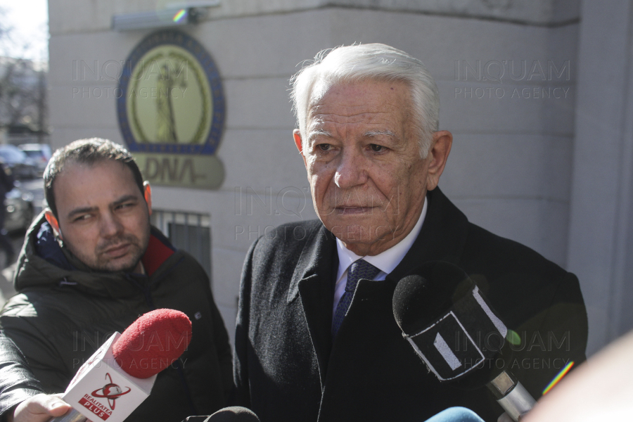 BUCURESTI - DNA - TEODOR MELESCANU - 13 FEB 2020