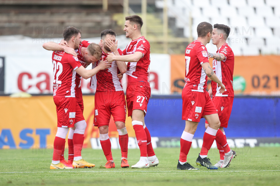 BUCURESTI - FOTBAL - LIGA 1 - PLAY-OUT - FC DINAMO - FC VOLUNTARI - 29 APR 2021