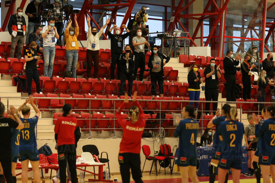 BUCURESTI - HANDBAL - CALIFICARE CM - ROMANIA - MACEDONIA DE NORD - 17 APR 2021