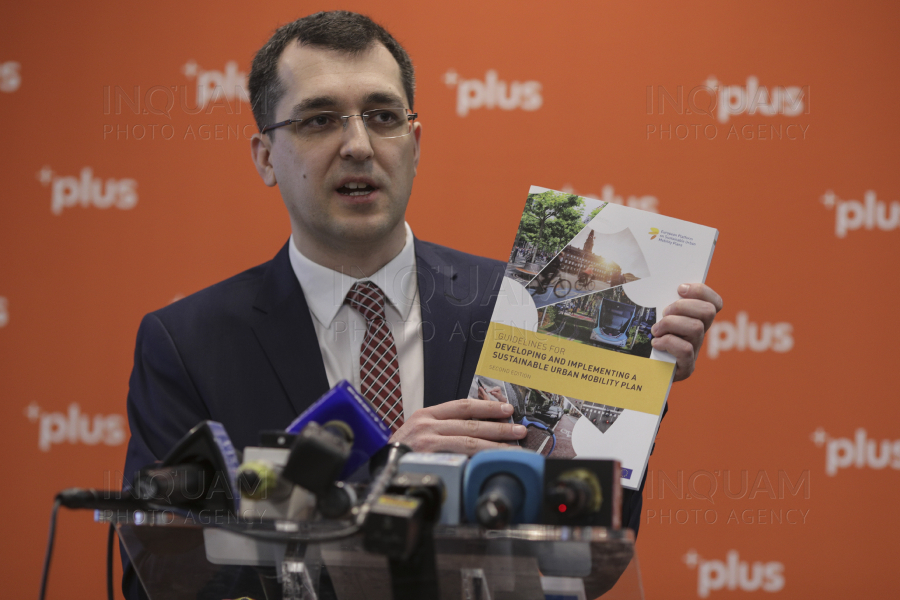 BUCURESTI - LOCALE 2020 - LANSARE PROGRAM - CANDIDAT PLUS - PRIMARIA CAPITALEI