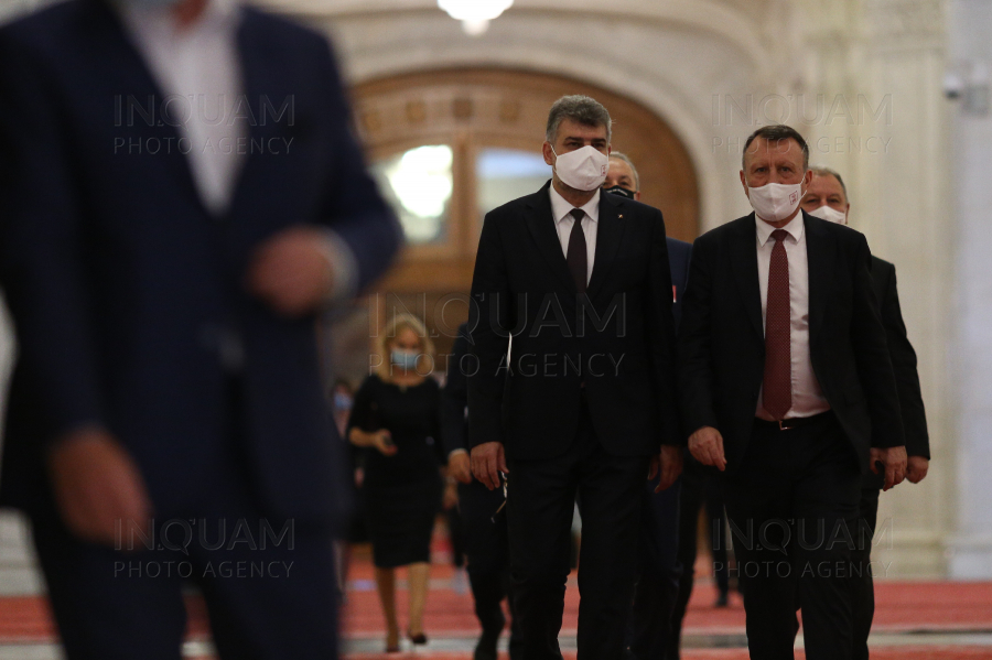 BUCURESTI - PARLAMENT - PSD - CONGRES - 22 AUGUST 2020