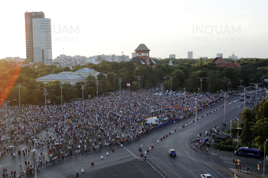 BUCURESTI - PROTEST - 10 AUGUST 2019
