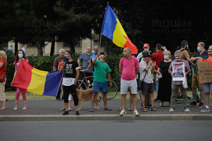 BUCURESTI - PROTEST - ANCHETA 10 AUGUST 2018 - 10 AUG 2020