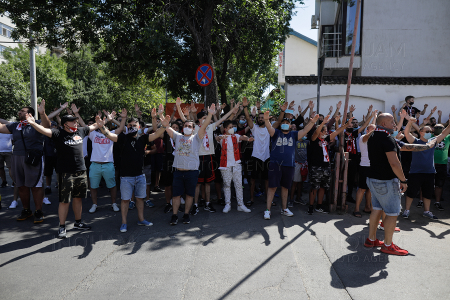 BUCURESTI - SUPORTERI DINAMO - PROTEST - 5 AUGUST 2020