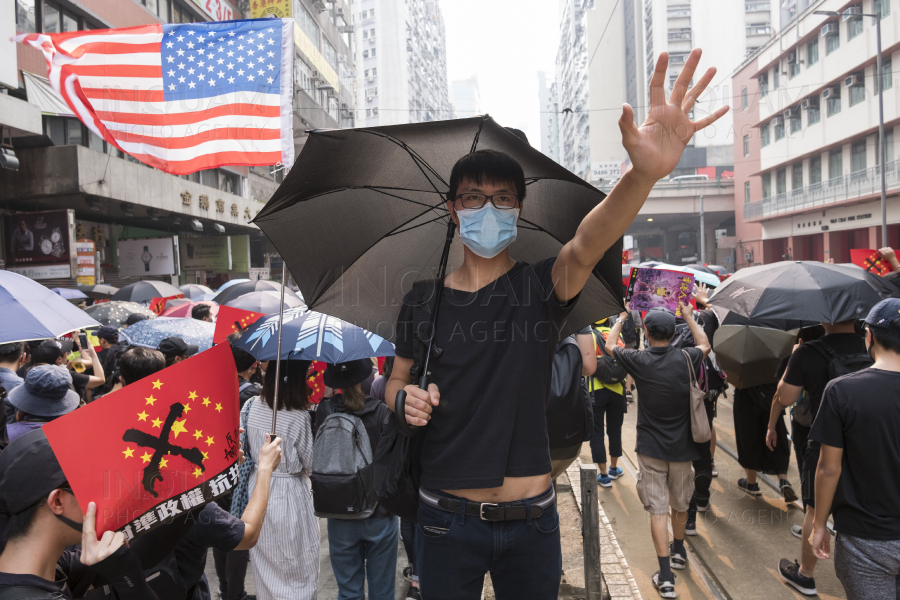 HONG KONG - PROTESTE - 29 SEPTEMBRIE 2019