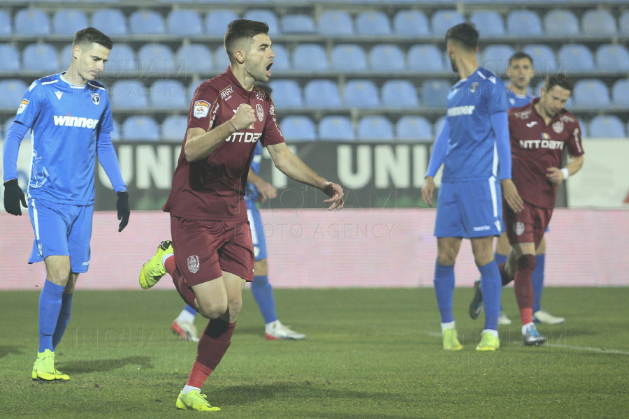 CFR 1907 Cluj - FC Voluntari - Liga 1 Betano - 30 nov 2018