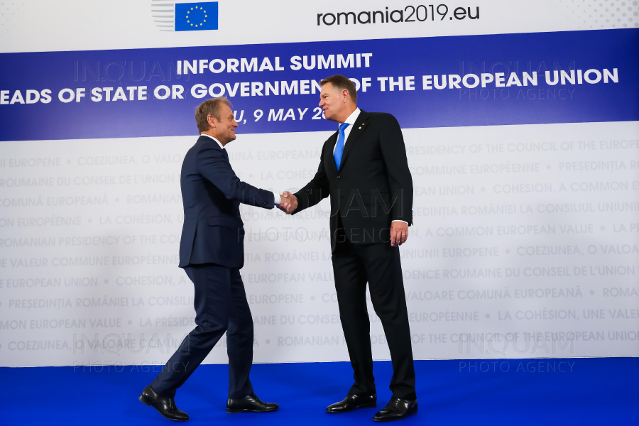 SIBIU - ROMANIA2019.EU - SUMMIT INFORMAL