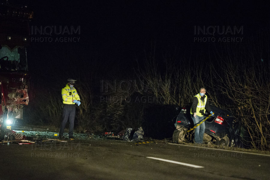 TIMIS - DN 59 - ACCIDENT - 6 FEB 2021